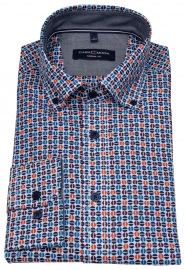 Casa Moda Hemd - Casual Fit - Button Down - mehrfarbig