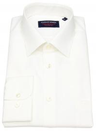 Casa Moda Hemd - Comfort Fit - Chambray - helles beige - extra kurzer Arm 58cm