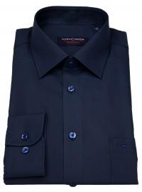 Casa Moda Hemd - Comfort Fit - dunkelblau