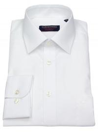 Casa Moda Hemd - Comfort Fit - weiß - extra langer Arm 69cm