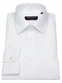 Casa Moda Hemd - Comfort Fit - weiß - extra langer Arm 72cm