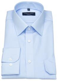 Casa Moda Pilotenhemd - Modern Fit - hellblau