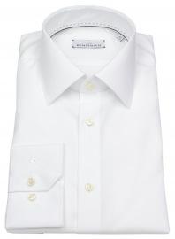 Einhorn Hemd - Modern Fit - Jamie - weiß