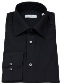 Einhorn Hemd - Regular Fit - Derby - schwarz