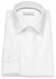 Einhorn Hemd - Regular Fit - Derby - weiß