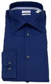 Esprit Hemd - Slim Fit - Kentkragen - dunkelblau
