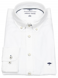 Fynch-Hatton Hemd - Casual Fit - Button Down - Oxford - weiß