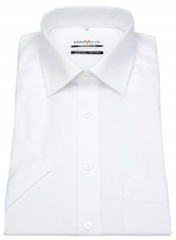 Marvelis Kurzarm Hemd - Comfort Fit - weiß