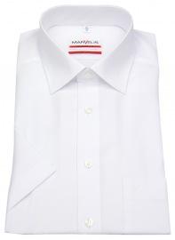 Marvelis Kurzarmhemd - Modern Fit - weiß