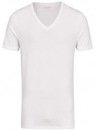 Marvelis T-Shirt Doppelpack - Body Fit - V-Ausschnitt - weiß