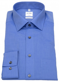 OLYMP Hemd - Luxor Comfort Fit - Chambray - blau