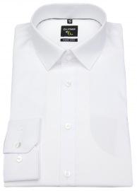 OLYMP Hemd - No. Six Super Slim - weiß - extra langer Arm 69cm