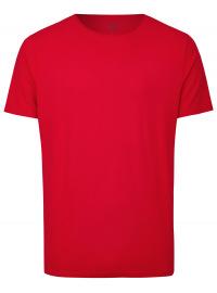 OLYMP Level Five Body Fit - T-Shirt - Rundhals-Ausschnitt - rot