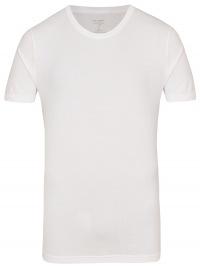 OLYMP Level Five Body Fit - T-Shirt - Rundhals-Ausschnitt - weiß
