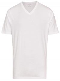 OLYMP T-Shirt Doppelpack - V-Ausschnitt - weiß