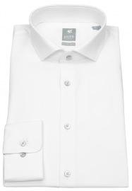 Pure Hemd - Extra Slim - Haifischkragen - weiß