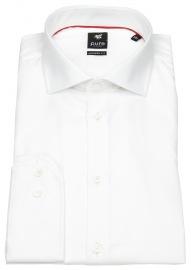 Pure Hemd - Modern Fit - Haifischkragen - weiß