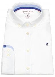 Pure Hemd - Slim Fit - Button Down - Oxford - weiß