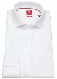 Pure Hemd - Slim Fit - Haifischkragen - weiß
