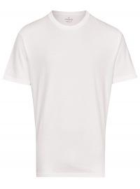 Ragman T-Shirt Doppelpack - Rundhals - weiß