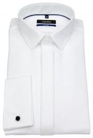 Seidensticker Galahemd - Shaped / Tailored Fit - Kentkragen - weiß