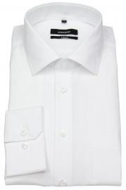 Seidensticker Hemd - Comfort Fit - Kentkragen - weiß