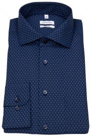 Seidensticker Hemd - Regular Fit - Kentkragen - dunkelblau / blau