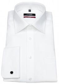 Seidensticker Hemd - Regular Fit - Umschlagmanschette - weiß