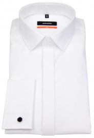 Seidensticker Smokinghemd - Slim Fit - Kentkragen - weiß - ohne OVP