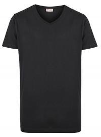 Signum T-Shirt Doppelpack - V-Neck - schwarz