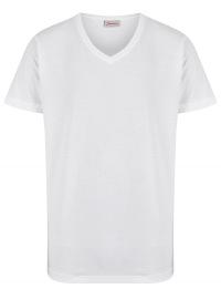 Signum T-Shirt Doppelpack - V-Neck - weiß