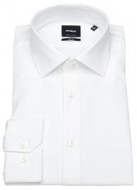 Strellson Hemd - Slim Fit - Kentkragen - weiß