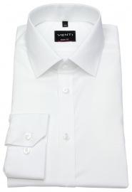 Venti Hemd - Body Fit - Kentkragen - weiß