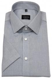 Venti Kurzarmhemd - Modern Fit - grau
