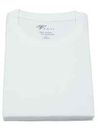 Venti T-Shirt Doppelpack - Modern Fit - Rundhals - weiß