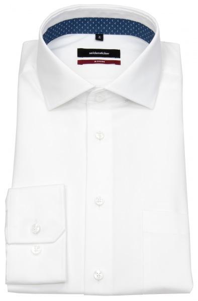 Seidensticker Hemd - Modern Fit - Haikragen - weiß - 119677 01