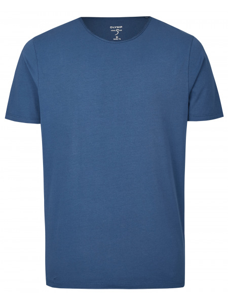 OLYMP Level Five Body Fit - T-Shirt - Rundhals-Ausschnitt - indigo - 5660 32 96