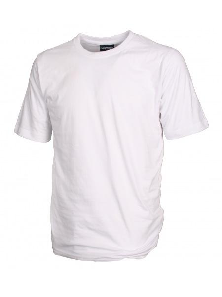 Casa Moda T-Shirt Doppelpack - Rundhals - weiß - 092180 0