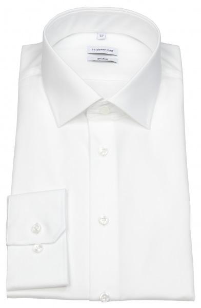 Seidensticker Hemd - Shaped Fit - weiß - extra langer Arm 70cm - 021005 01