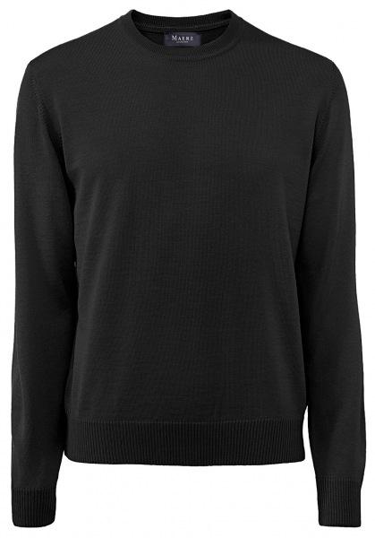 MAERZ Muenchen Pullover - Comfort Fit - Rundhals - anthrazit - 490500 591