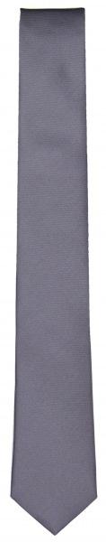 OLYMP Seidenkrawatte - Super Slim - silber - 4697 00 62