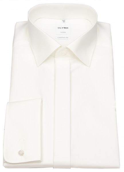 OLYMP Galahemd - Luxor Comfort Fit - Umschlagmanschette - creme - 0294 65 21