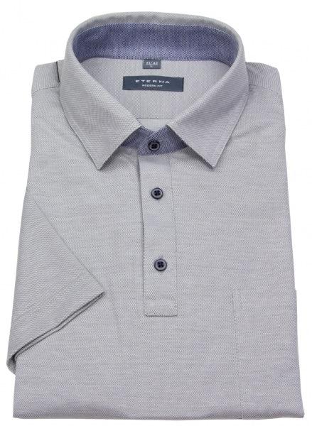 Eterna Poloshirt - Modern Fit - Piquée - grau - 2203 C54K 32