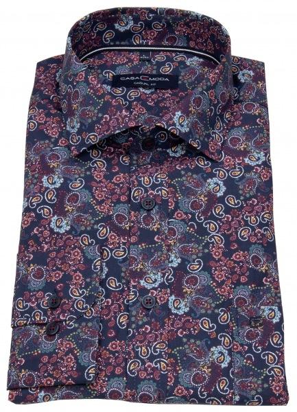 Casa Moda Hemd - Casual Fit - Haikragen - Print - mehrfarbig - 493248700 100