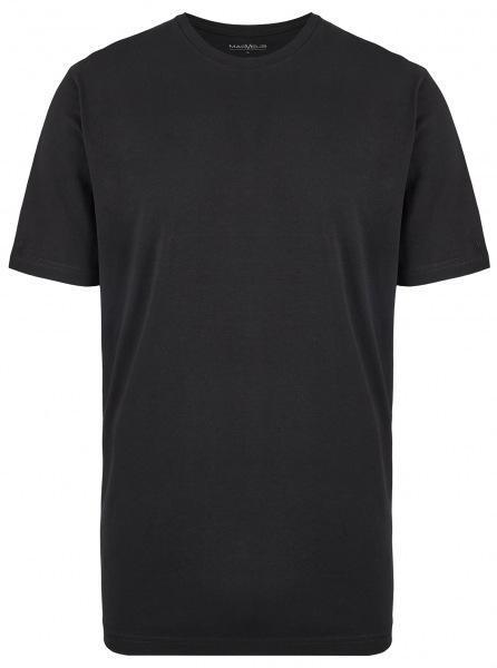 Marvelis T-Shirt Doppelpack - Modern Fit - Rundhals - schwarz - 2816 00 68
