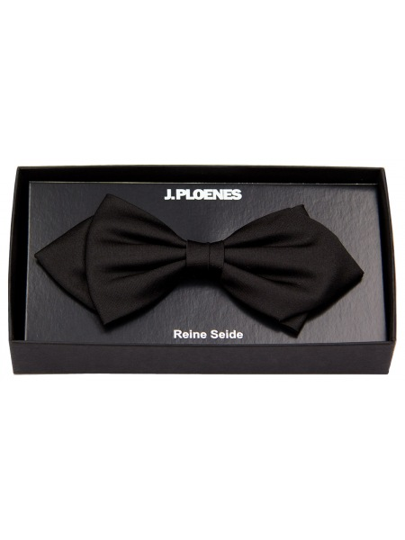 J. Ploenes Schleife / Fliege - Seide - Spitz - schwarz - 18001F004SP