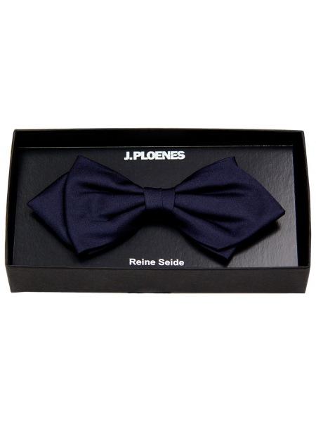 J. Ploenes Schleife / Fliege - Seide - Spitz - dunkelblau - 18002 023