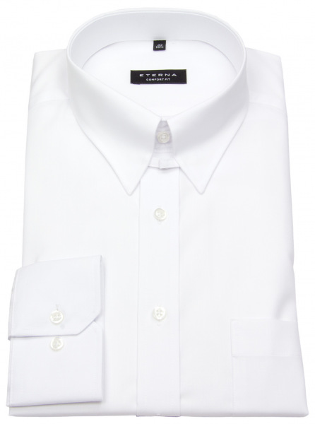 Eterna Hemd - Comfort Fit - Tabkragen - weiß - ohne OVP - 1100 E186 00