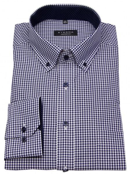 Eterna Hemd - Comfort Fit - Button Down - blau / weiß - 8913 E144 16