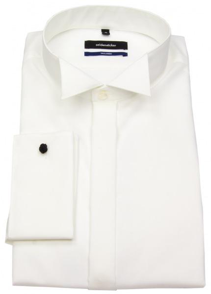 Seidensticker Galahemd - Tailored Fit - Kläppchenkragen - creme - ohne OVP - 021008 21